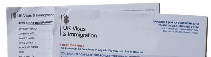 Start your UK settlement visa application here