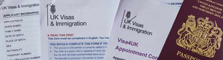 UK Settlement Visa documentation checklist